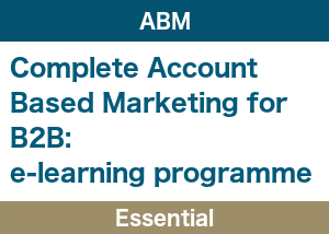 Account Based Marketing Essential