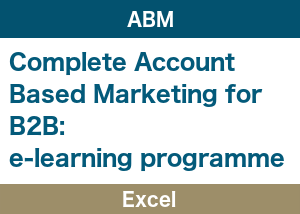 Account Based Marketing Excel