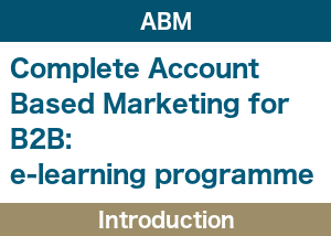 Account Based Marketing Introduction