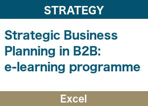 Strategic Business Planning Excel